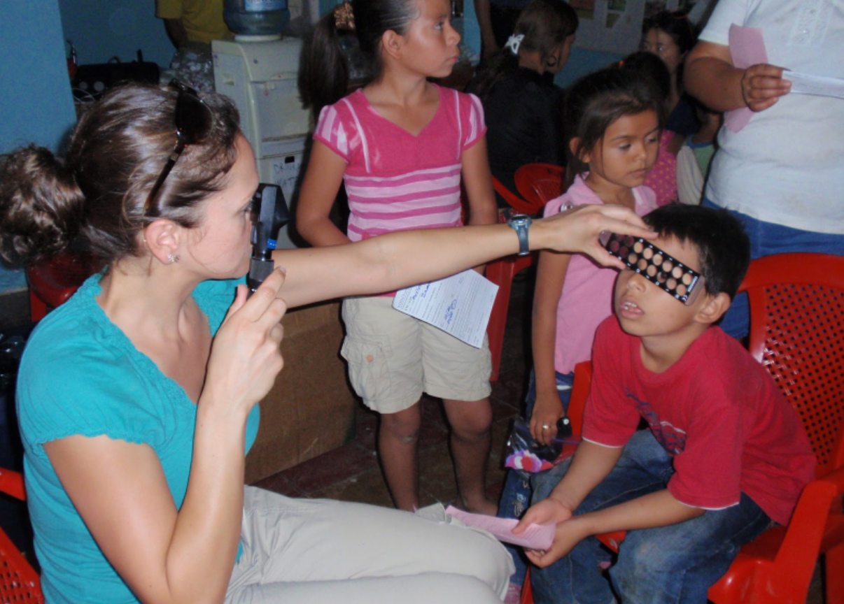 VOSH Free Eye Exams, Free Glasses, Dr Bucci, Central America