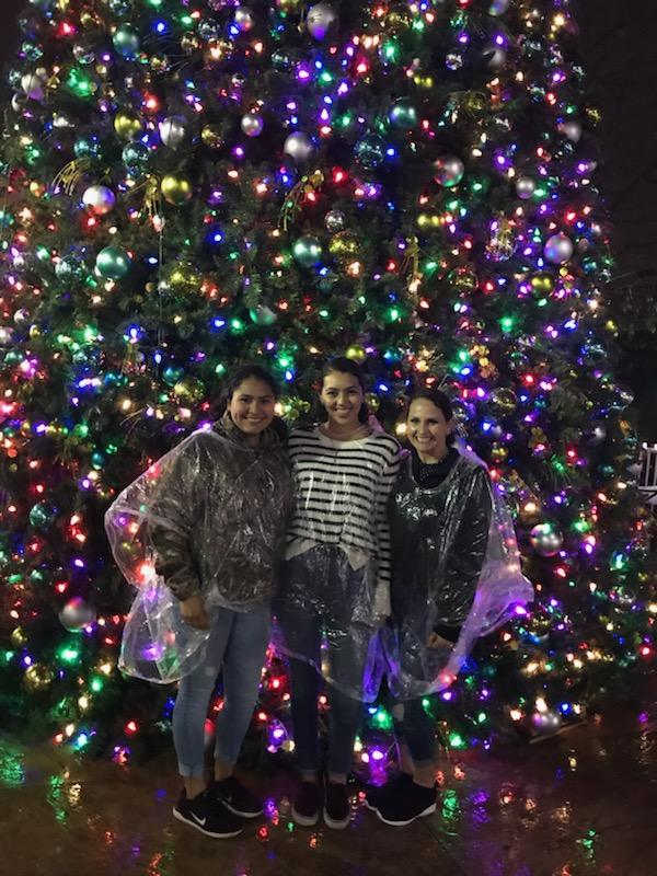 Brisa, Gaby and Dr. Bucci enjoyed a day at Busch Gardens and survived the SheiKra Roller Coaster - 2018 Bucci Eye Care Christmas Party