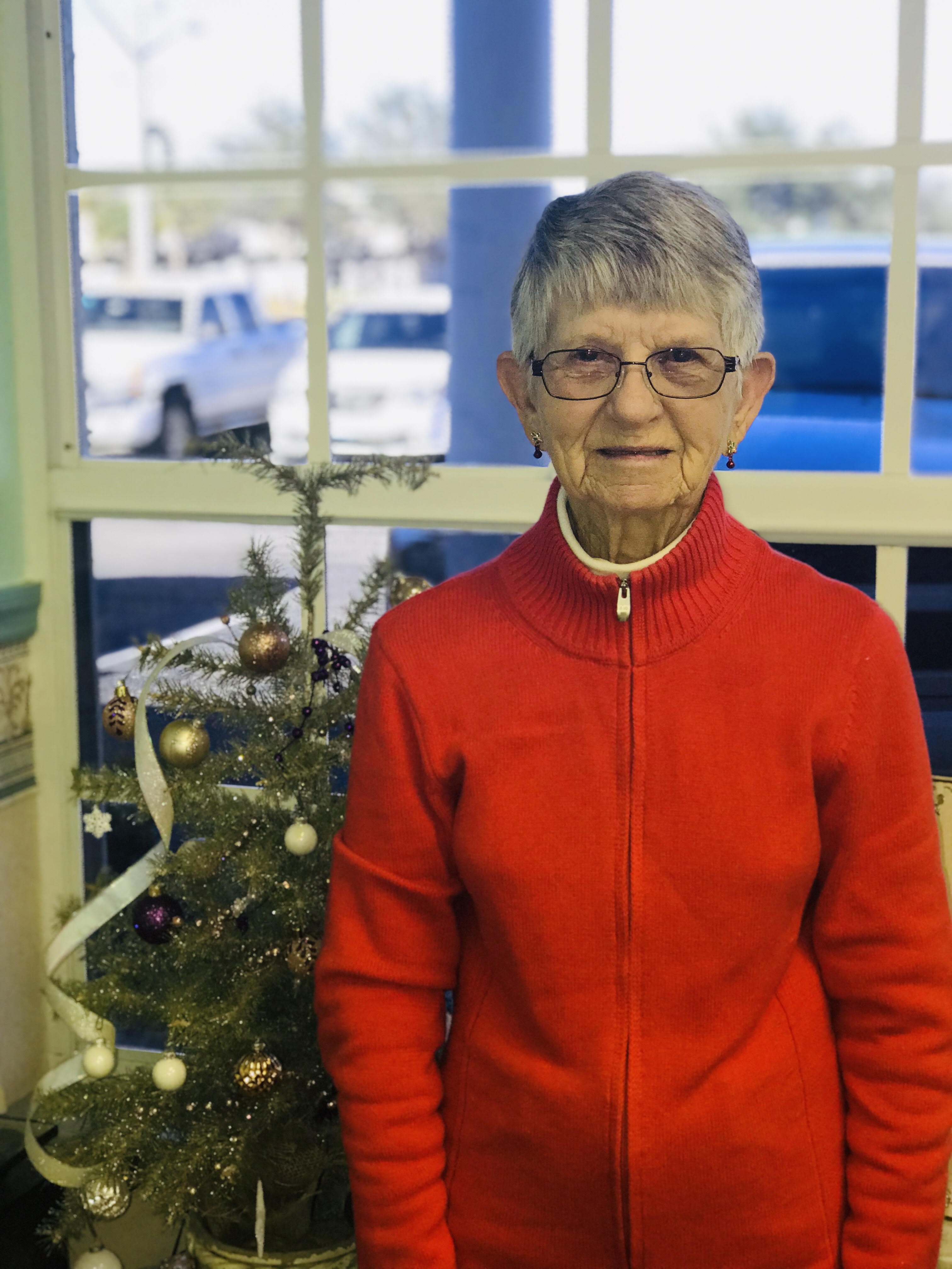 Mrs. D won $100 off her new glasses during the 2018 Bucci Eye Care Christmas Promotion